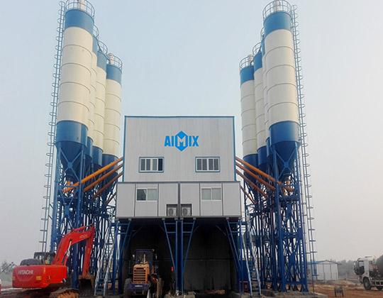 Gran planta de hormigón 120hzs