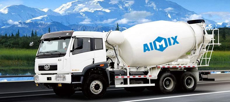 Camión mezcladora de hormigón