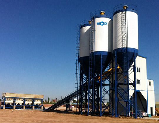 Mejor modelo de planta mezcladora de hormigón