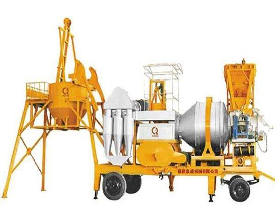 AIMIX planta asfaltora portátil continua