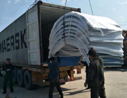 Transporte De Silos De Cemento