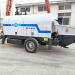 AIMIX Planta De Concreto Y Bomba Estacionaria De Concreto Exportada A Bolivia