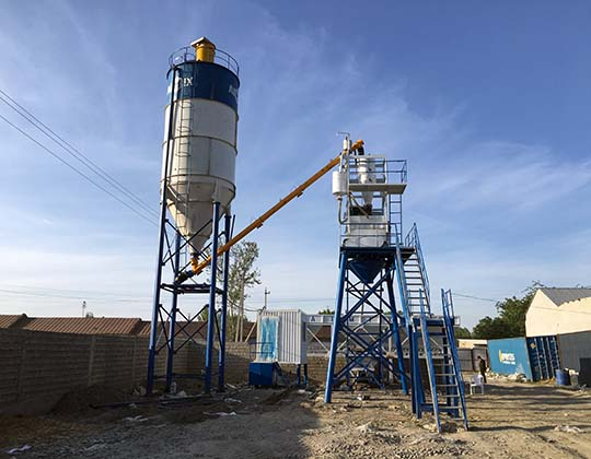 AIMIX Planta De Concreto Estacionaria