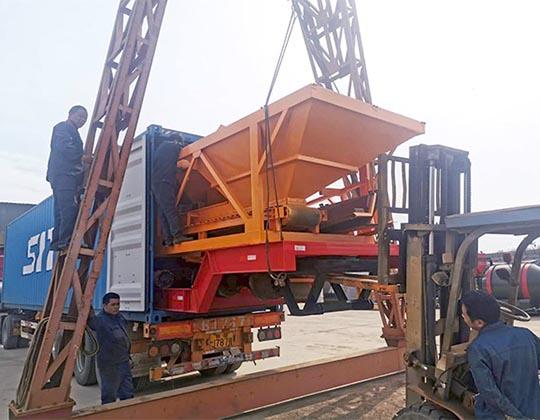 Exportación De Nuestra Planta De Concreto Portátil