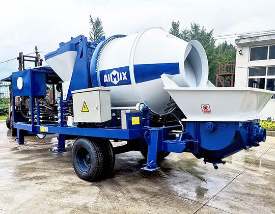ABJZ40C Bomba Mezcladora de Concreto Diesel