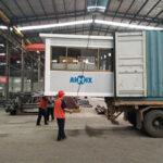 Planta de Concreto de AJ25 Exportó a Rusia