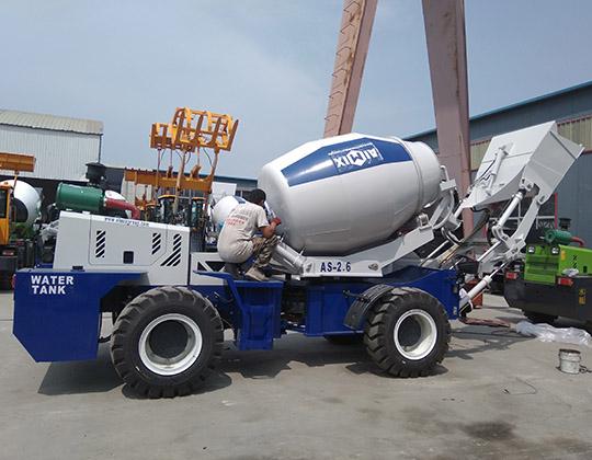 2.6m3 Camión Autohormigonera