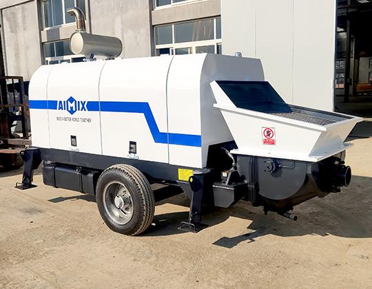 ABT40D Máquina De Bombeo De Hormigón