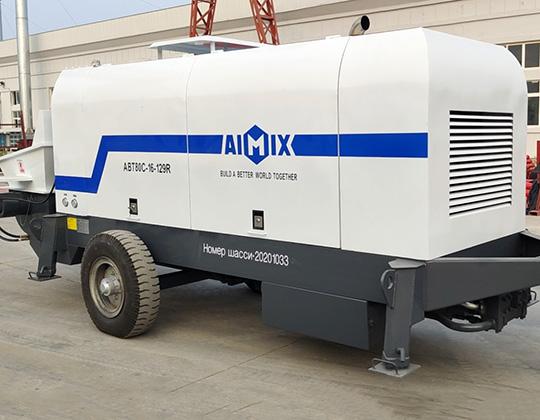 AIMIX ABT80C Equipo De Bombeo De Hormigón Diesel