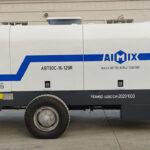 Bomba De Hormigón Diésel ABT80C Se Exportó A Rusia