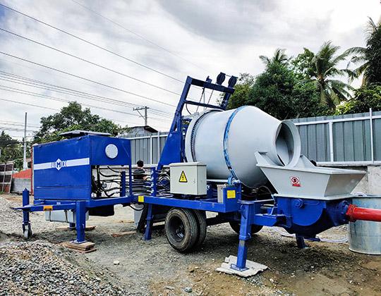 AIMIX Bomba De Concreto En Filipinas