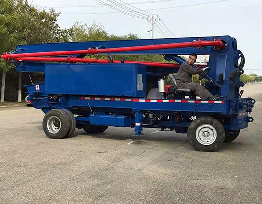 camión de pluma de concreto