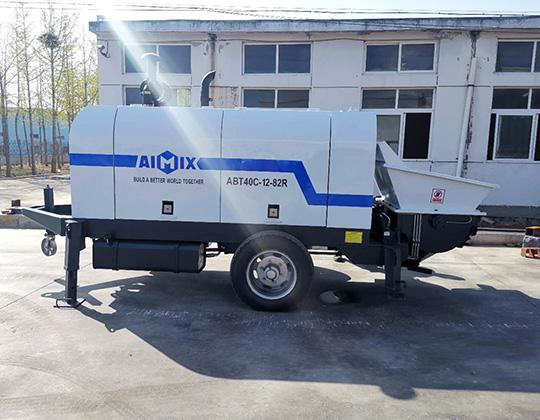 Bomba De Concreto Estacionaria - AIMIX