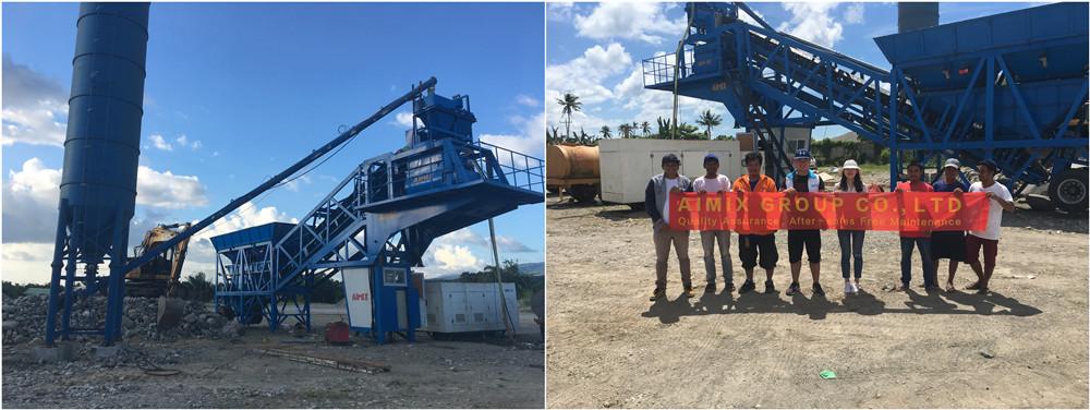 Planta De Concreto Y Nuestro Ingeniero En Filipinas