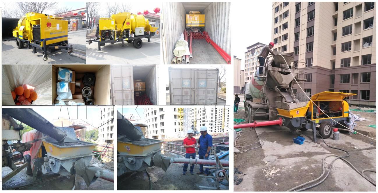AIMIX Bombas Estacionarias Y Bombas Mezcladoras De Concreto En Indonesia