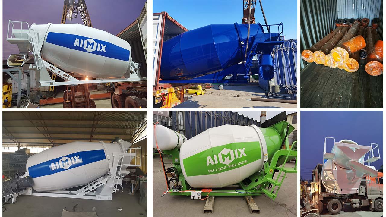 AIMIX Exportó Muchos Tabores De Mezcla