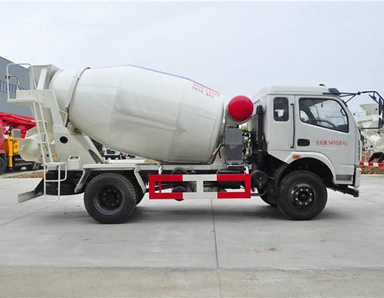 Carro Mixer De Concreto