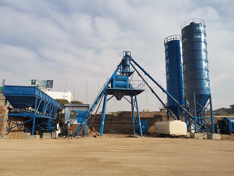AIMIX Planta Mezcladora De Concreto En Pakistán
