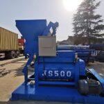 Hormigonera JS500 Y Máquina Dosificadora De Concreto Se Exportarán A Dominica