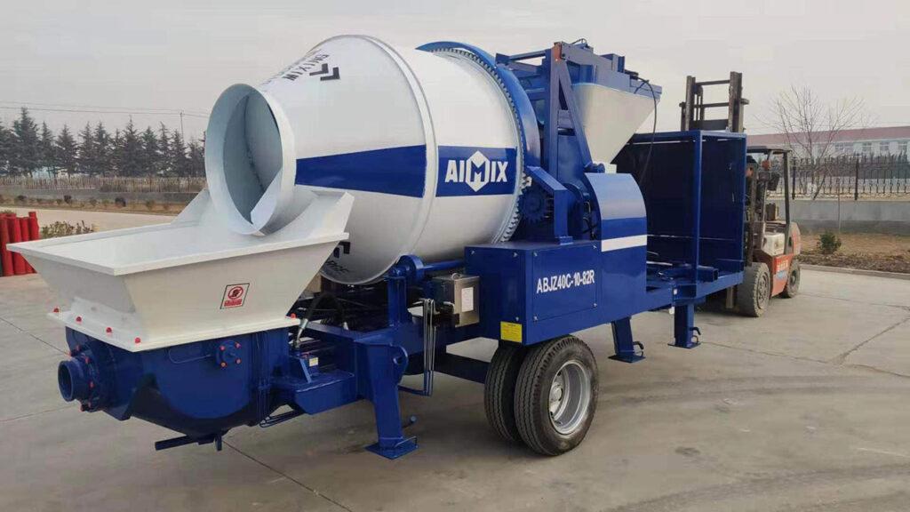 AIMIX Bomba De Concreto Premezclado Exportada A Canadá