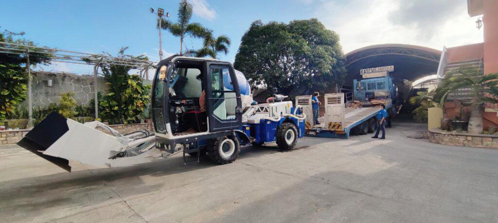 AIMIX Hormigonera Autocargable De 1.8m3 En Filipinas