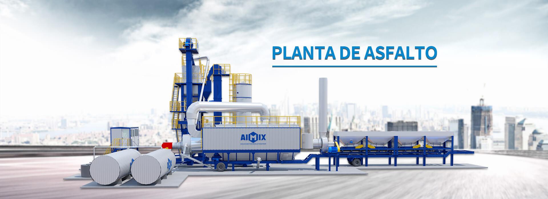 AIMIX Planta De Asfalto Con Mejor Calidad