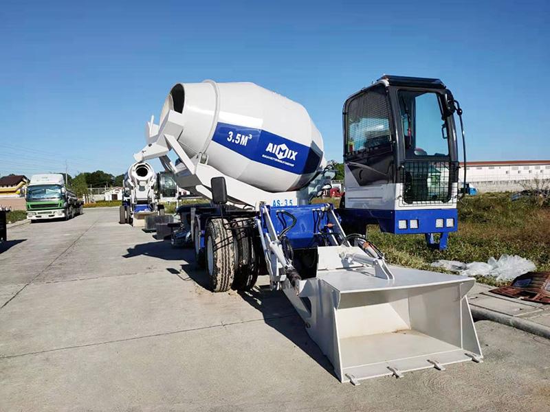 Camión Hormigonera Autodescarga - AIMIX